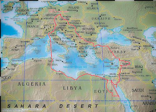 1 Orientreise Eine Reise Um Das Ostliche Mittelmeer Traumen