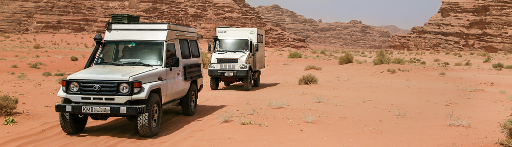 Reisepixel - Jordanien Toyota